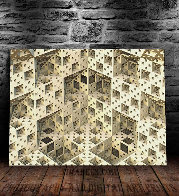 The Building by Tim Abeln Photography and Digital Art Prints. Beautiful wall decoration for your home and office. #walldecor #interiordesign #homeideas #art #digitalart #fractal #design #home #inspiration #giftideas #mathematics