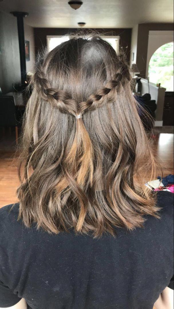 braided hairstyles short #Shorthairprom