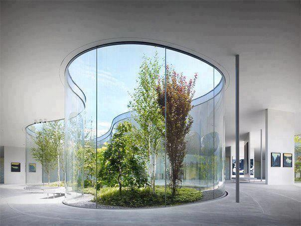 Another hidden garden within a building