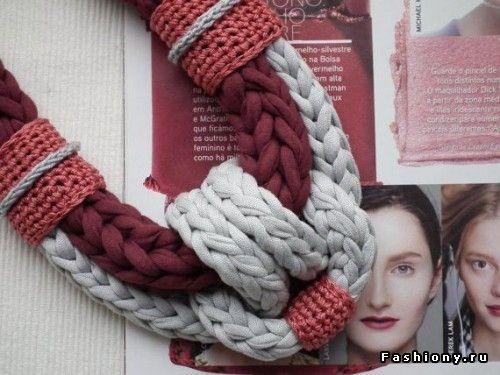 Новый тренд в рукоделии - пряжа 'лента'