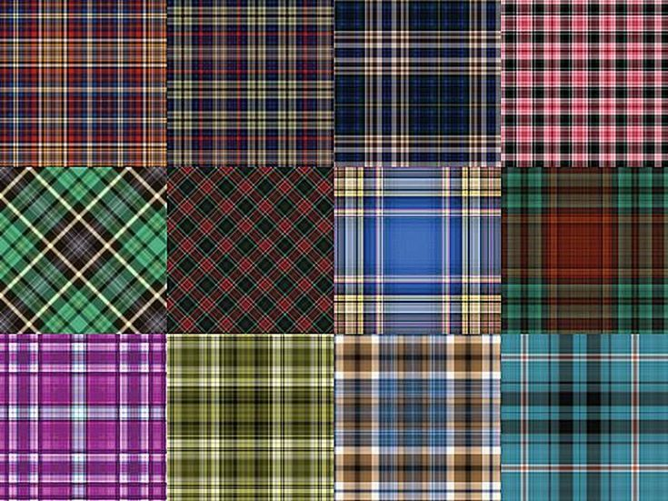 Free Plaid Patterns for Photoshop by Shelby Kate Schmitz: Plaid Patterns Set 4