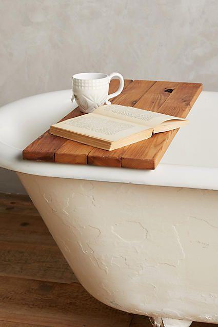 Peg & Awl Vestige Bathtub Caddy #anthrofave #anthroregistry