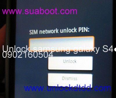 Mở mạng, giải mã Samsung galaxy S4 lấy ngay, giá rẻ