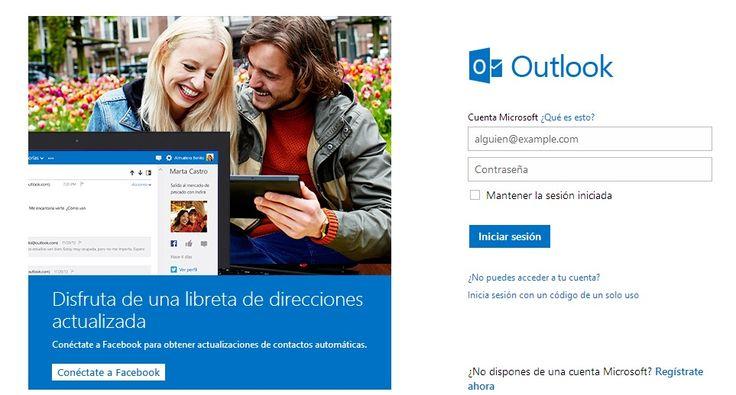 Iniciar sesión Hotmail (Outlook)