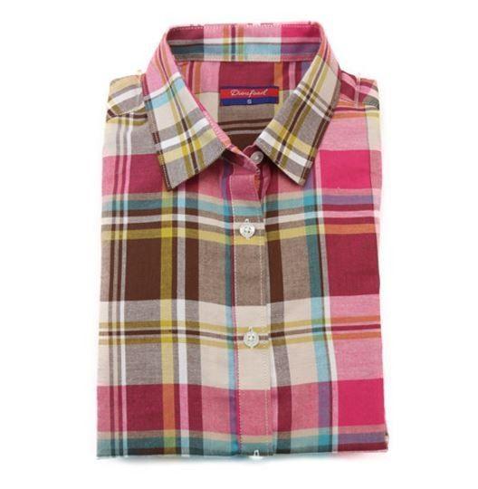 Originální dámská kostkovaná košile – růžovohnědá – Velikost L Na tento produkt se vztahuje nejen zajímavá sleva, ale také poštovné zdarma! Využij této výhodné nabídky a ušetři na poštovném, stejně jako to udělalo již velké …