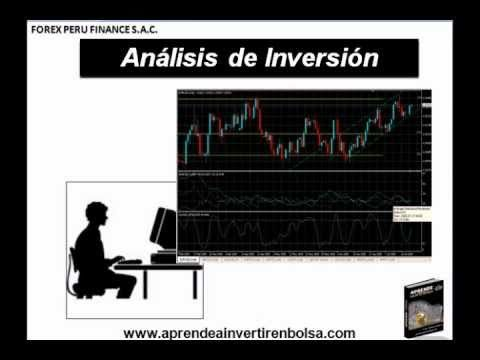 Como Invertir en la Bolsa de Valores - Analisis Tecnico (Parte1)