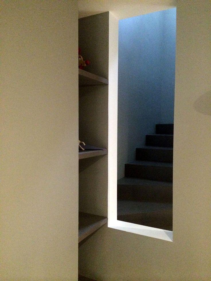 Ouverture sur escalier pour plus de lumière