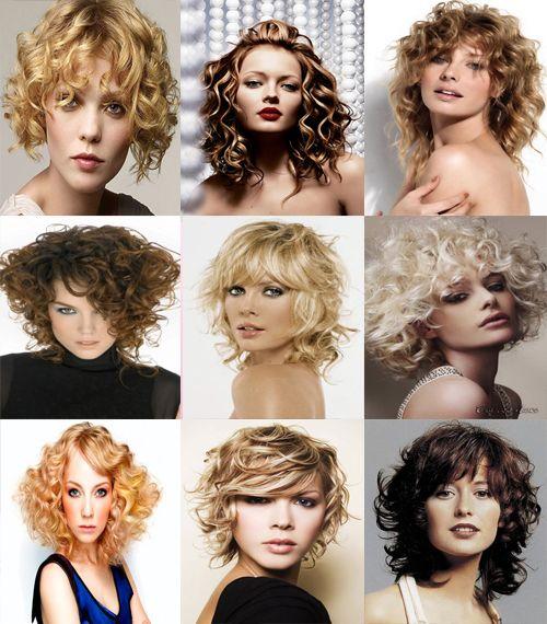 Простые стрижки для вьющихся волос