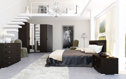Black And White Bedroom Decor Mesmerizing Design Review