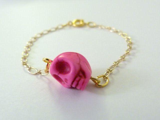 DIY bracelet tête de mort