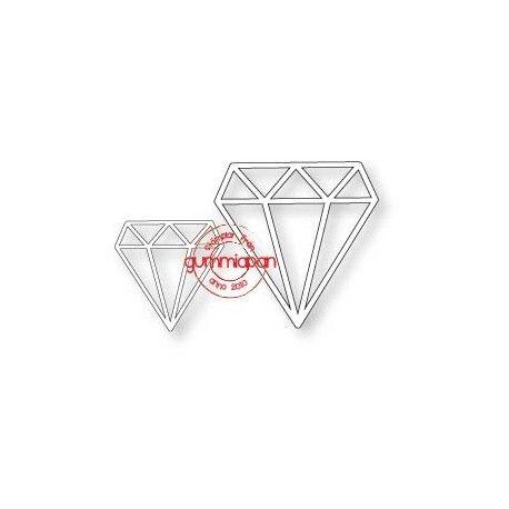 Diamanter Gummiapan die