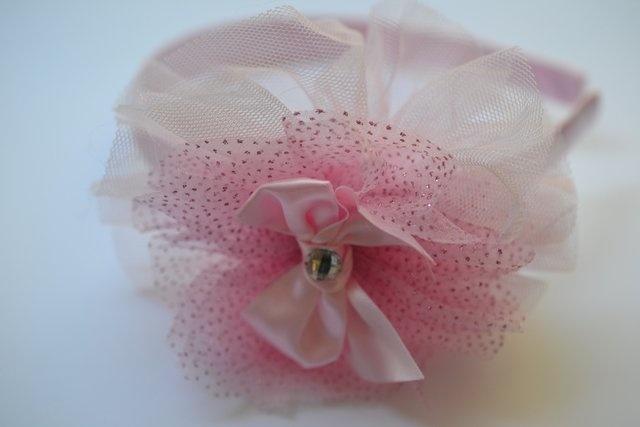 zazaloo prima ballerina headband in light pink