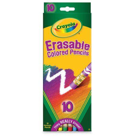 Shop By Brand Erasable Colored Pencils Colored Pencils Crayola