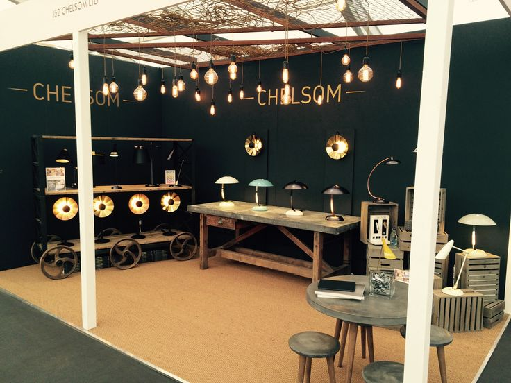 Stand at Decorex 2015 showcasing Autumn Update and Reflector from Edition 25