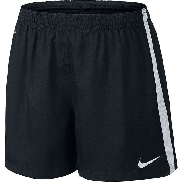 Women's Nike Squad Dri-FIT Woven Soccer Shorts, Size: X SMALL, Black... ($22) ❤ liked on Polyvore featuring activewear, activewear shorts, black white, nike, nike activewear and nike sportswear