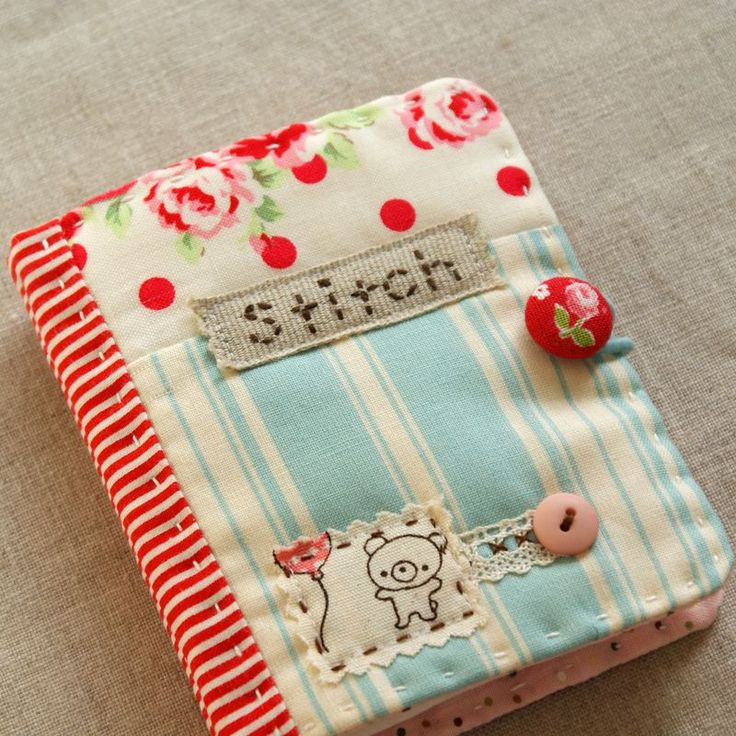 Book Cover Sewing Kits : I love this little needlebook was thinking of a quiet