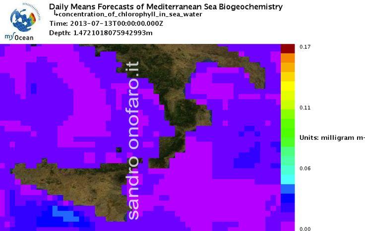 #meteo #forecast #fishing #pesca #mediterranean #mediterraneo #sea #mare 13/07/2013 #Sicilia #Sicily #Italy #Italia