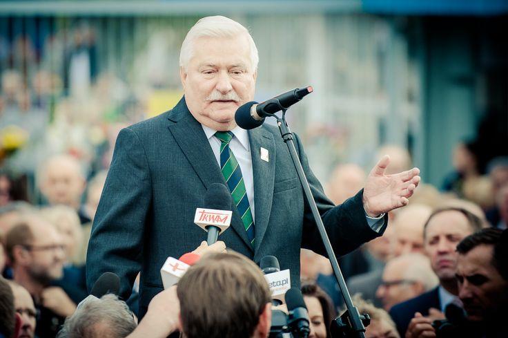 Lech Wałęsa - European Solidarity Center - opening