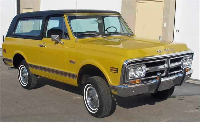 This yellow 1971 GMC Jimmy is looking for a good home.  If I had an extra $38,000 laying around I would be glad to buy it.  It is located at 1239 Hamlet Hill Dr, West Chester, PA 19380 if you, however, have that much extra dough laying around.