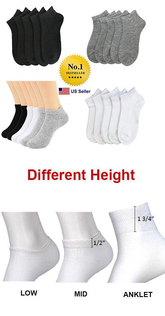 c3c3b2fdb0d Socks 166695: Men Women 6-8 9-11 10-13 Ankle Socks Low Cut No Show ...
