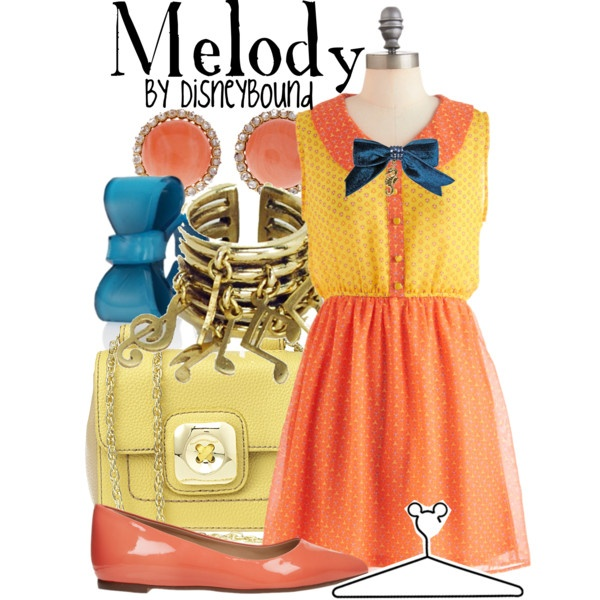 """Melody"" by lalakay on Polyvore #disneyLittle Mermaids, Disney Clothing, Ariel Daughters, Disney Outfit, Disney Inspiration, Polyvore Disneybound Melody, Disney Bound, Disneybound Inspiration, Disney Fashion"