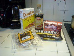 Butter brickle ingredients