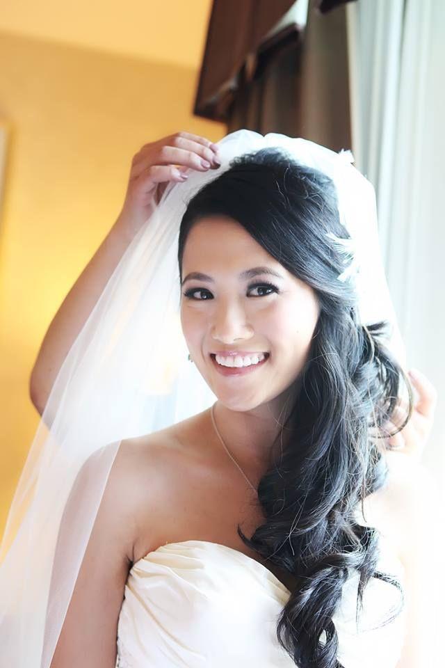 Soft Romantic Side Do For Asians Weddinghair Asian Wedding Hair
