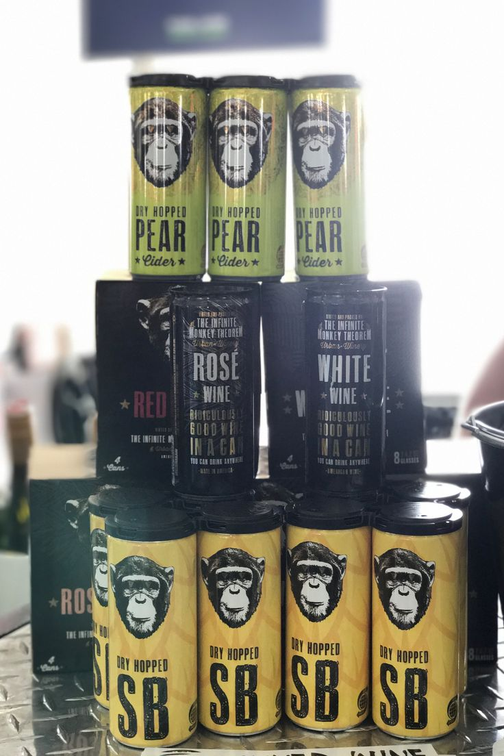 The Infinite Monkey Theorem Canned Wines