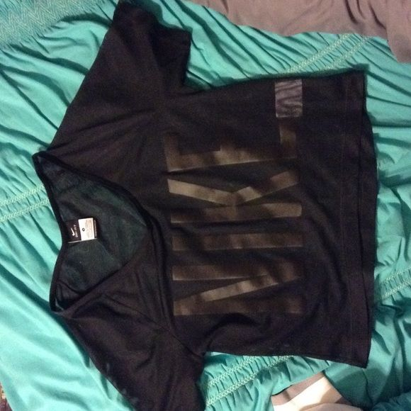 Nike GRX Mesh Crop Women's Training Top! Brand new, never worn Nike GRX mesh crop training top! Made with Dri-Fit material for a comfortable fit. Looks great with bright colored sports bra or tank top underneath! Nike Tops Crop Tops