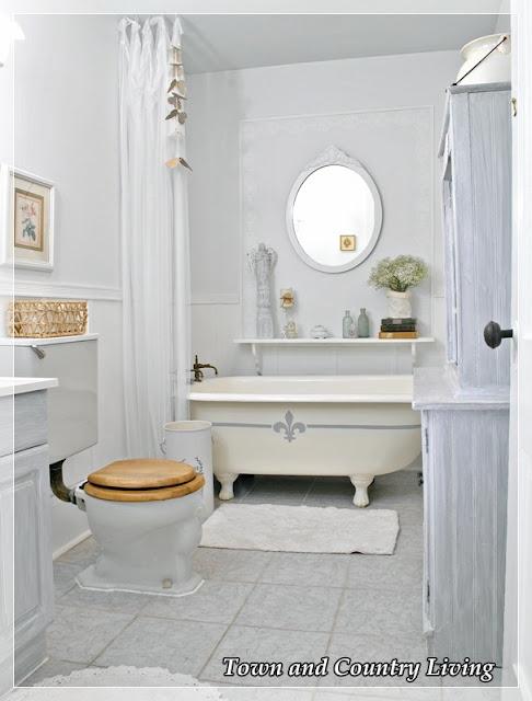 Schön Französisch Land Badezimmer, Französisch Badezimmer, Haus Badezimmer,  Bauernhaus Badezimmer, Land Französisch, Küsten Badezimmer, Bauernküchen,  Länderküchen ...