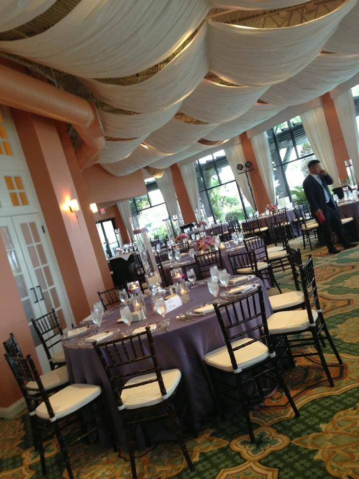 Wedding in Galveston, TX // Aztec Events & Tents Event