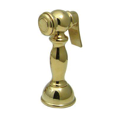 Elements of Design DSRP1K Vintage Brass Kitchen Side Sprayer Sink Accessory