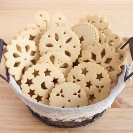Doily Biscuits (in Spanish with recipe)
