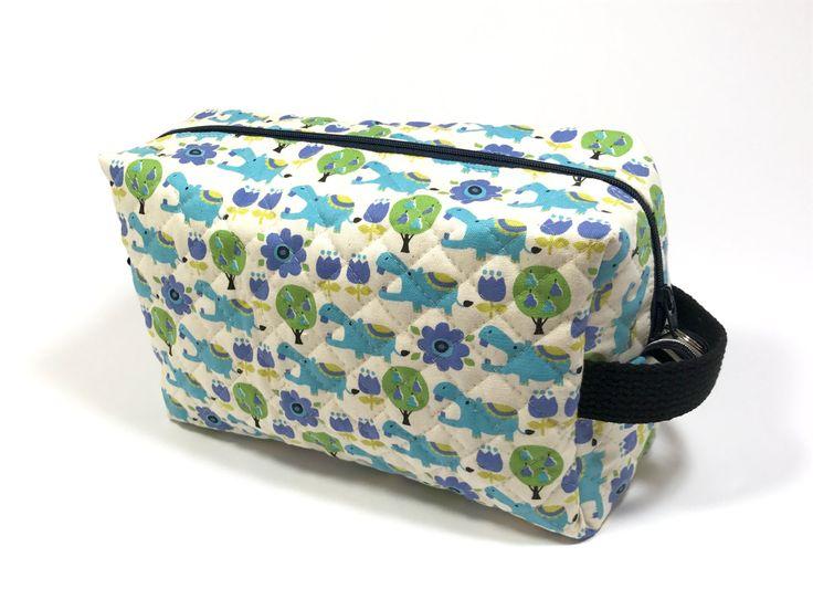 hipo zip pouch quilted cotton makeup pouchzip pouch large toiletry bag
