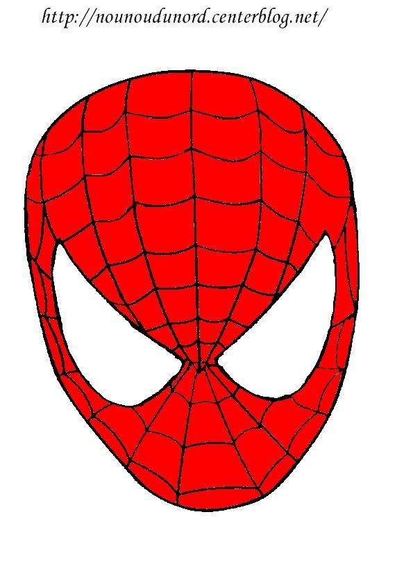 masque spiderman d'autres modèles à imprimer cliquez sur mon lien http://nounoudunord.centerblog.net/4209-masques-a-imprimer-classes-par-ordre-alphabetique