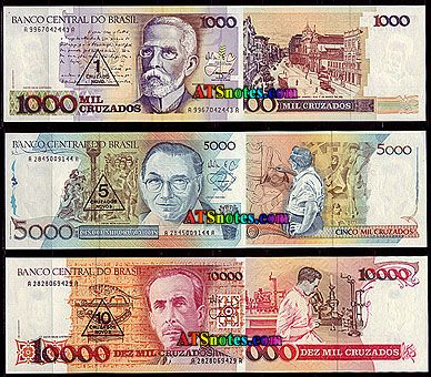 money from brazil | World Paper Money Catalog and History | world currency | Pinterest | History