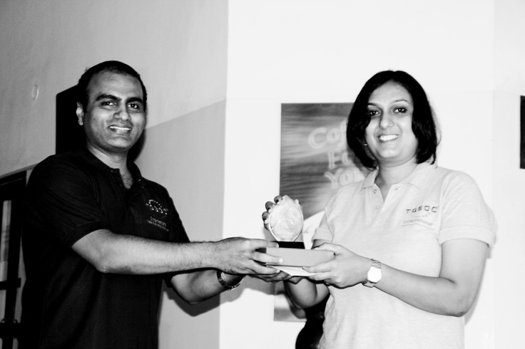 Award Ceremony for best employees