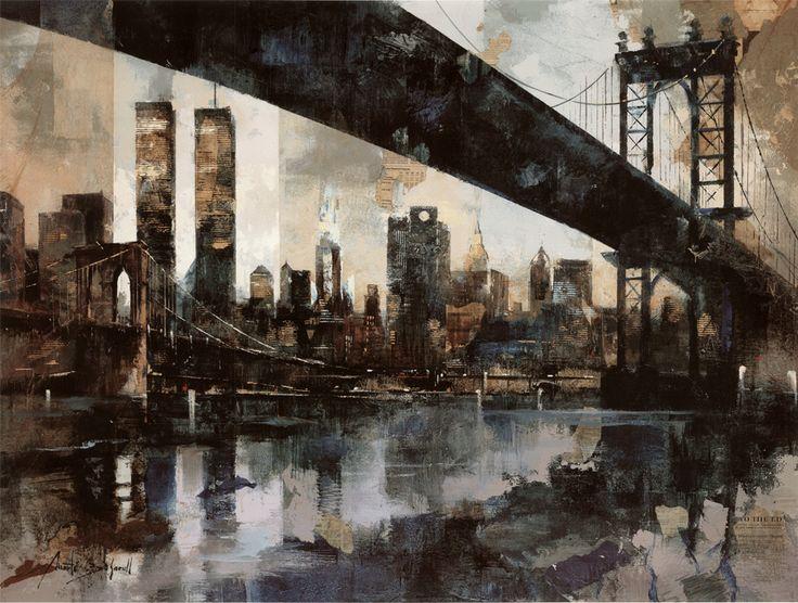 Manhattan Skyline by Marti Bofarull