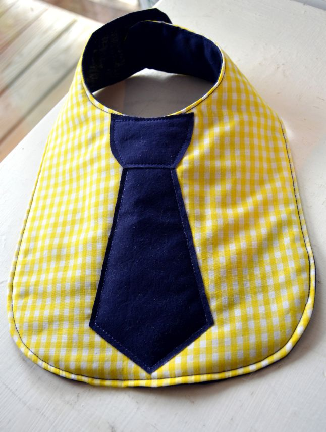 DIY baby boy bibs, gotta try making one of these!