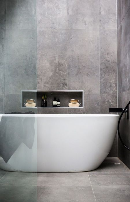 Grey continues to be a popular colour that works well with most home décor styles. This good news for homeowners who want to incorporate a concrete look