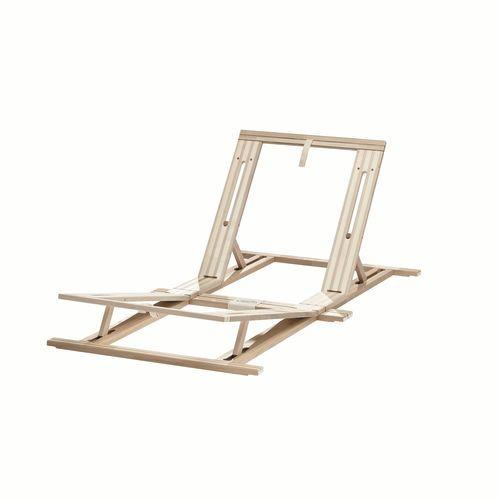 Bed frame insert with adjustable back and leg rests   HÜSLER NEST