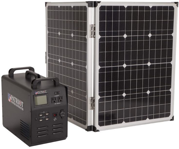 The Patriot Power Generator 1500 is a revolutionary solar generator to give you portable, easy energy... indoors or outdoors. And it doesn't make any noise or smell.