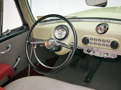 1951 Nash Rambler Interior And Dashboard None So New As