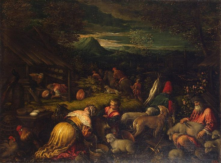 Bassano, Francesco (Francesco da Ponte) (workshop)  Autumn Italy, 1580s
