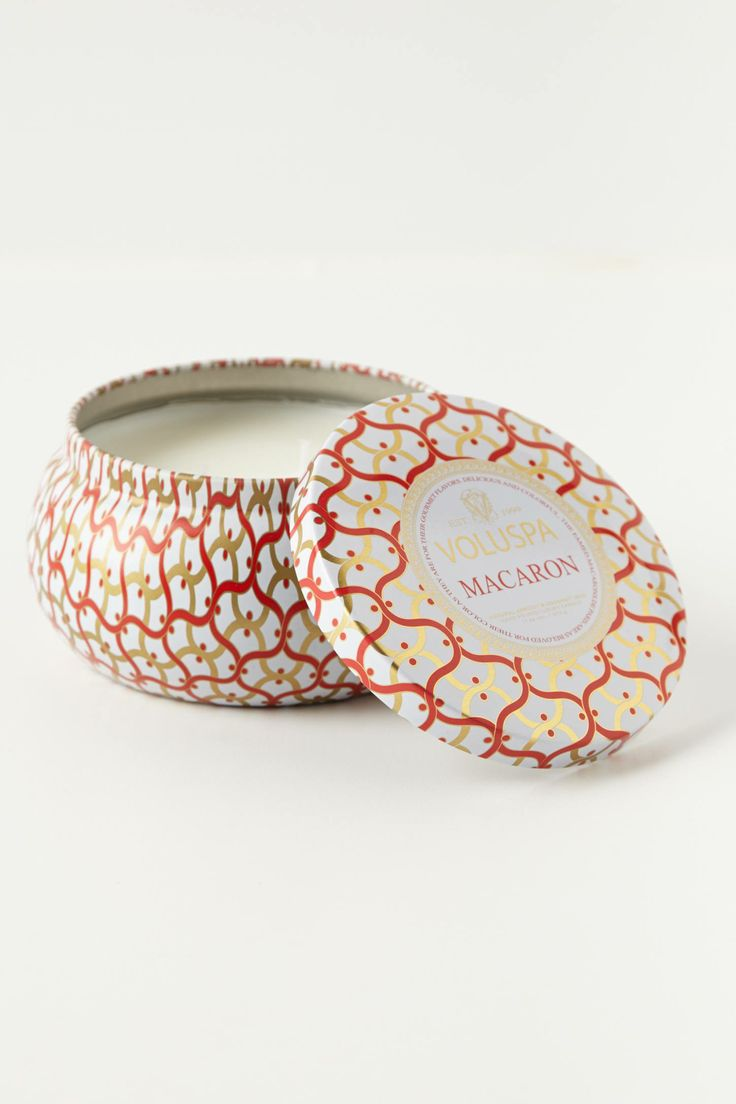 Voluspa Metallo Candle in macaron scent - anthropologie.com or the store at Stony Point mall