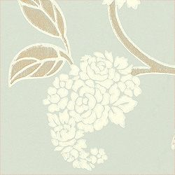 TRANQUEBAR, Aqua, T7920, Collection Cypress from Thibaut