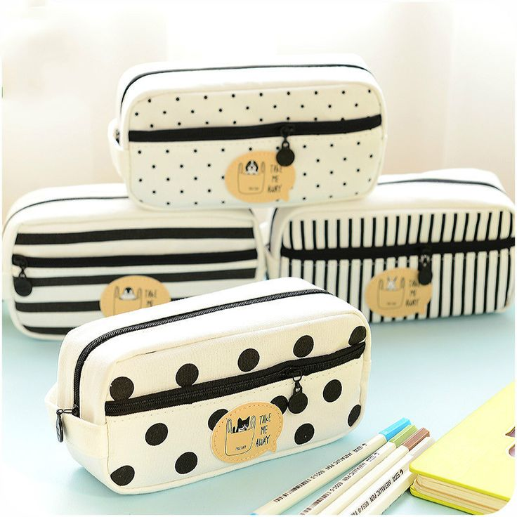 2017 New Kawaii Pencil Case Super Cute Pencil Bag Canvas School Case School Supplies Pen Bag Stationery Organizer for Boys Girls-in Pencil Cases from Office & School Supplies on Aliexpress.com | Alibaba Group