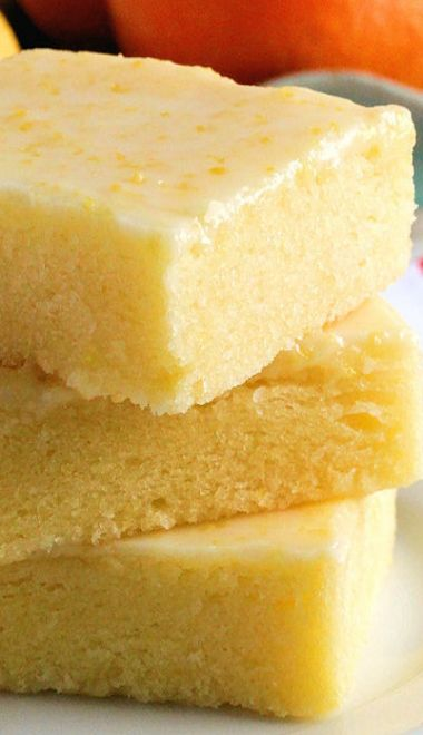 The Best Ever Lemon Brownies Bars Easily veganized with a 3/4c silken tofu to replace the egg. I'm making these for the next INVeg potluck.