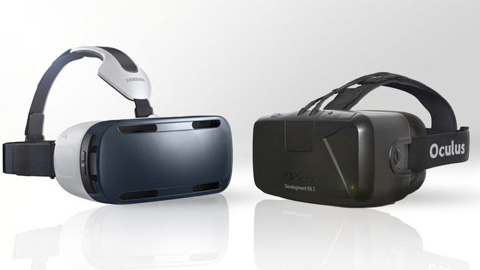 Samsung Gear VR vs. Oculus Rift DK2