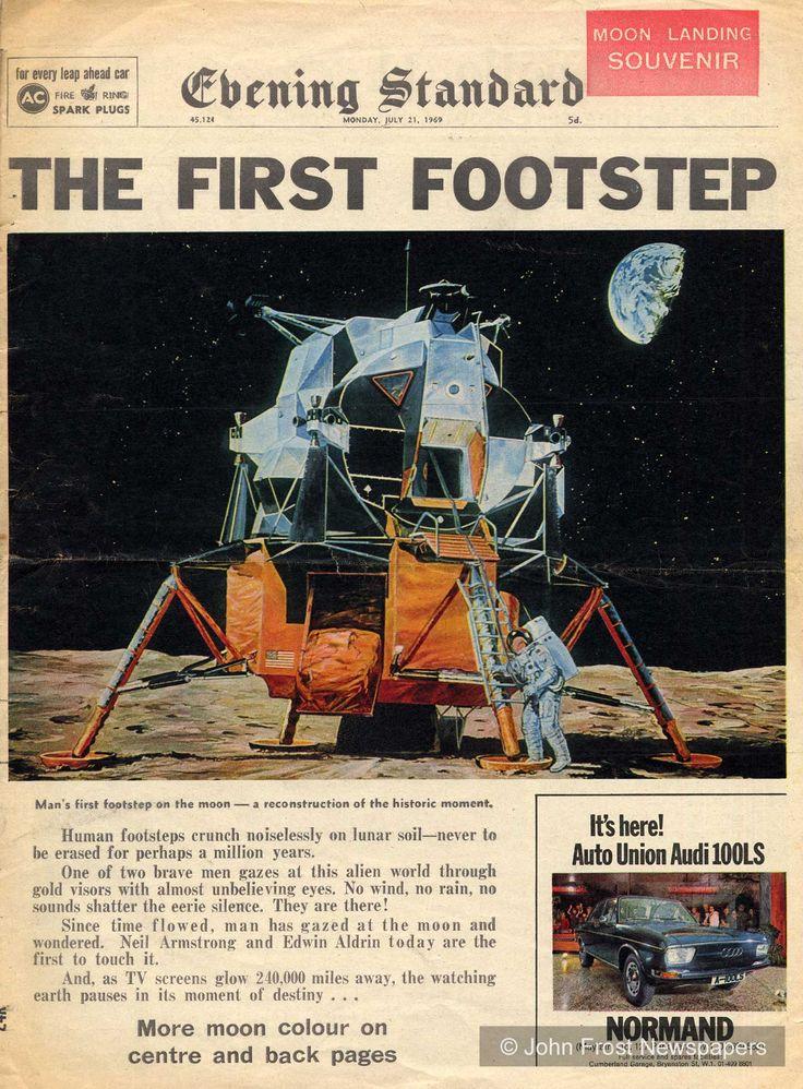 1969 newspaper moon mission - photo #33